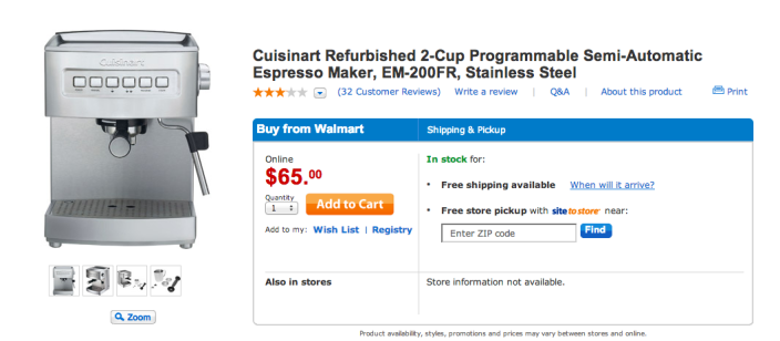 Stainless Steel Cuisinart EM-200 Programmable 15-Bar Espresso Maker-sale-03