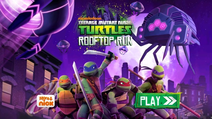 Teenage Mutant Ninja Turtles- Rooftop Run-sale-Apple App of The Week