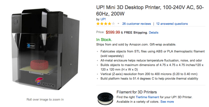 UP! Mini 3D Desktop Printer-sale-01