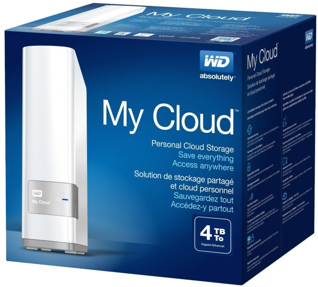 WD My Cloud 4TB Personal Cloud Storage (NAS)