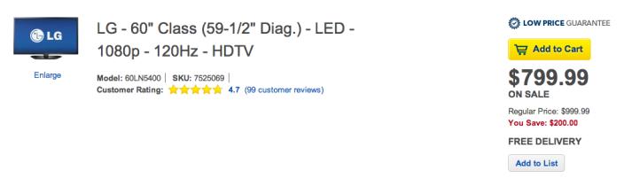 60-inch LG 1080p 120Hz LED TV (2013 Model - 60LN5400)-sale-02