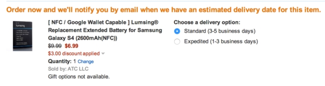 amazon discount applied for lumsing