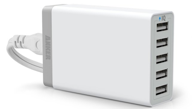 anker-40w-usb-5-port-charger