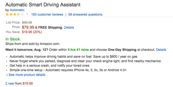 automatic-smart-driving-amazon-deal