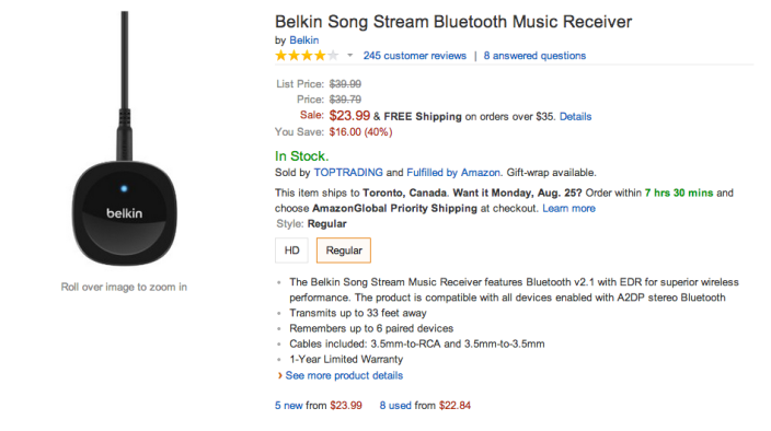 Belkin Song Stream Bluetooth Music Receiver-sale-03