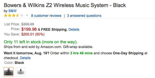 bowerswilkins-z2-amazon-deal