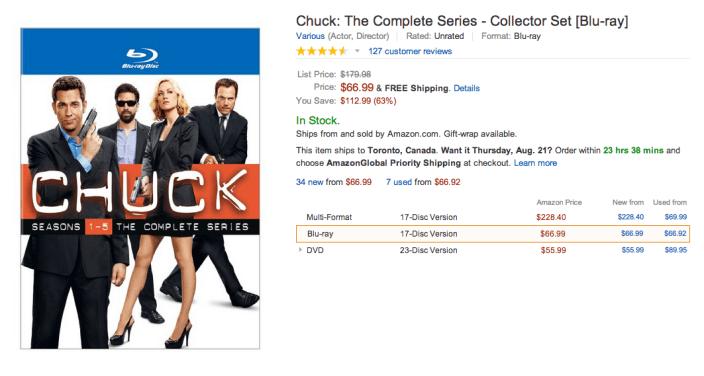 Chuck-DVD-Amazon