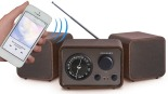Crosley Trio Bluetooth Stereo System with AM:FM Radio, AUX Input, and Headphone Out