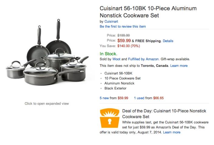 Cuisinart 10-Piece Aluminum Nonstick Cookware Set (56-10BK-sale-02