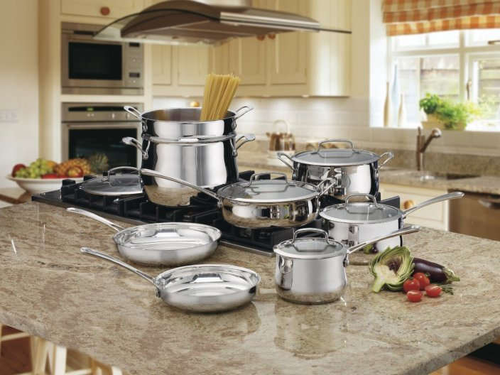 Cuisinart 44-13 Contour Stainless 13-Piece Cookware Set-sale-01