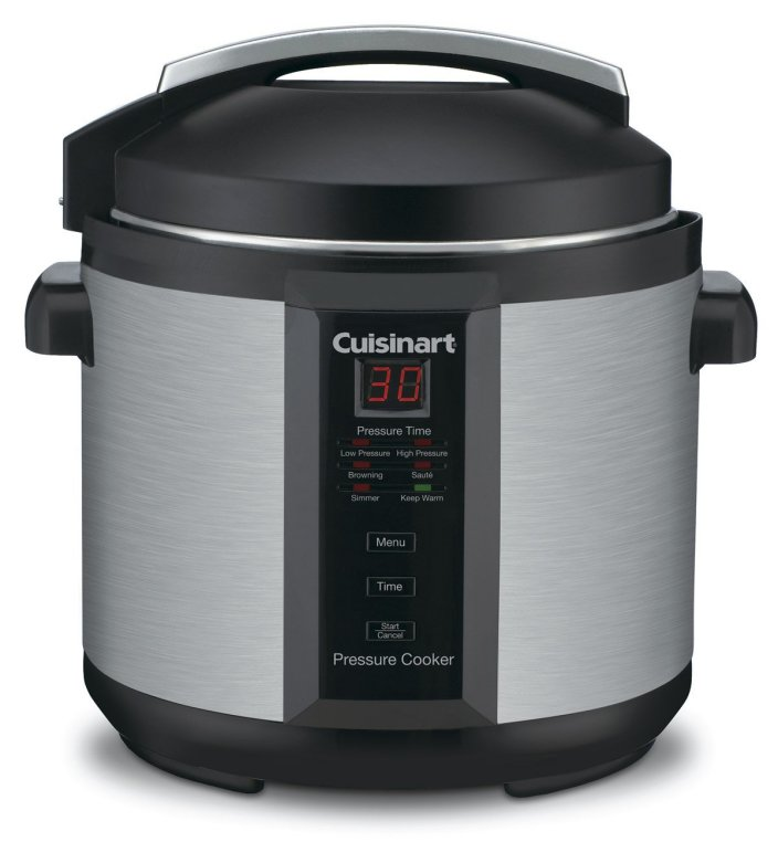 Cuisinart CPC-600 1000W 6qt. Pressure Cooker (Brushed Stainless Steel)-sale-01