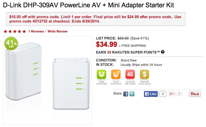 D-Link DHP-309AV Powerline Mini Adapter Starter Kit-sale-03