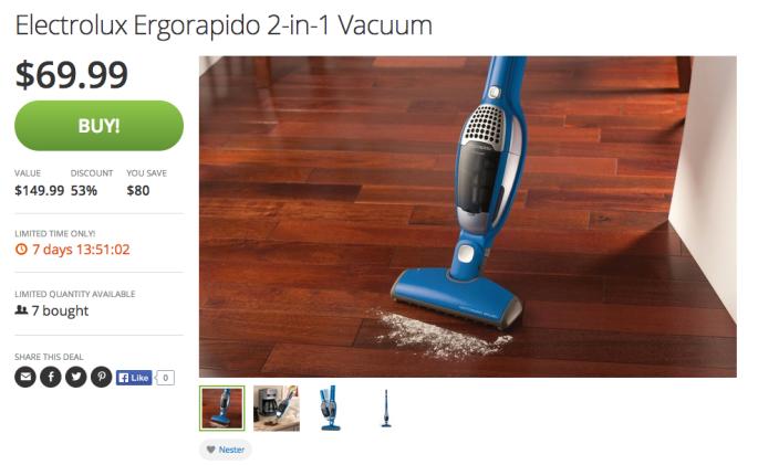 Electrolux Ergorapido 2-in-1 Stick:Handheld 12 V cordless vacuum-sale-03
