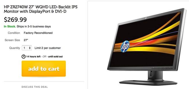 HP 27%22 Monitor Display Port