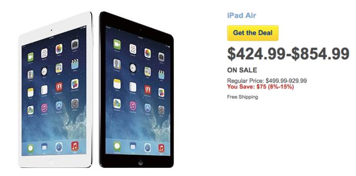iPad-Air-All-Models-Best-Buy-Sale