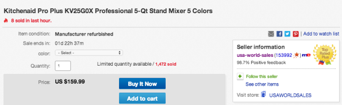 Kitchenaid Pro Plus KV25G0X Professional 5-Qt Stand-sale-refurb-ebay-02