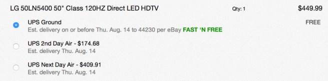 LG 50LN5400 50%22 Class 120HZ Direct  HDTV