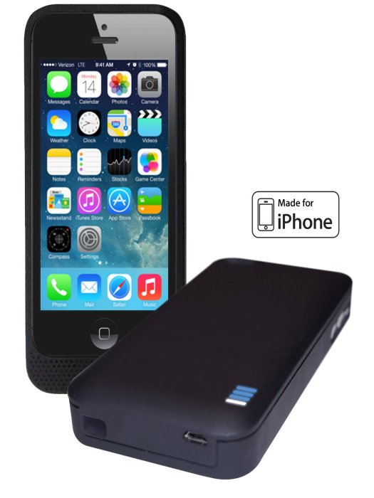 LifeCHARGE Battery Cases for iPhone 5:5s:5c