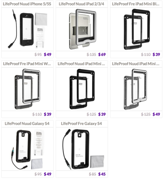 LifeProof cases Daily Steals