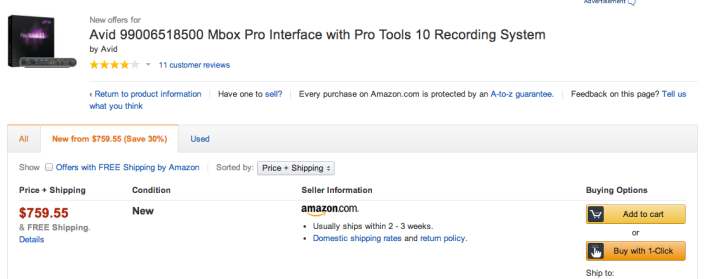 Mbox Pro audio interface-Pro Tools 10-sale-02