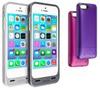 Mophie Juice Pack Helium Protective Charging Case for Apple iPhone 5:5S with Smart Battery Technology, Power Toggle and LED Battery Indicators (Choice of 4 Colors)