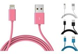 Mota Apple-Certified 6' iPhone 5 Lightning Cables