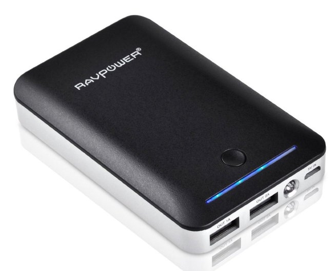 RAVPower Deluxe External Battery CHARGER 8400mAh Portable Power Bank Pack for iPhone