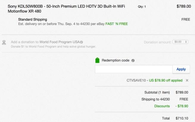 Sony KDL50W800B 50-Inch 1080p 120Hz 3D Smart TV