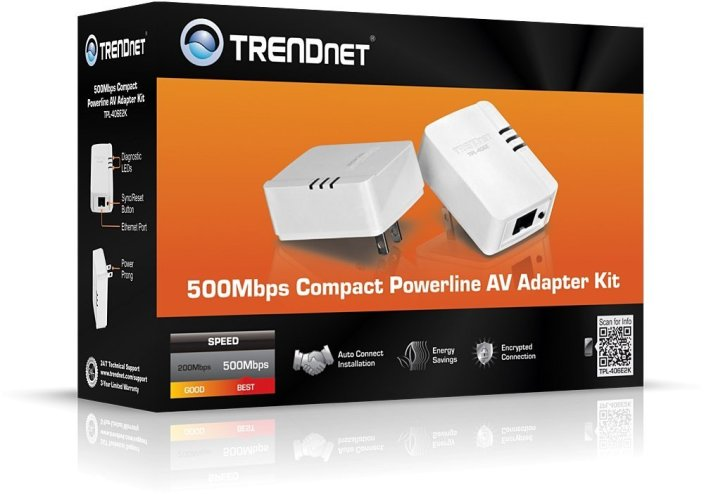 TRENDnet 500 AV Nano Adapter Powerline Kit (TPL-406E2K)-sale-01