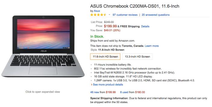 11.6-inch ASUS Chromebook (C200MA-DS01)-sale-Amazon-02