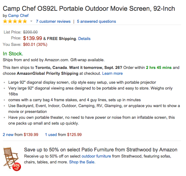 92-Inch Camp Chef Portable Outdoor Movie Screen-OS92L-sale-02