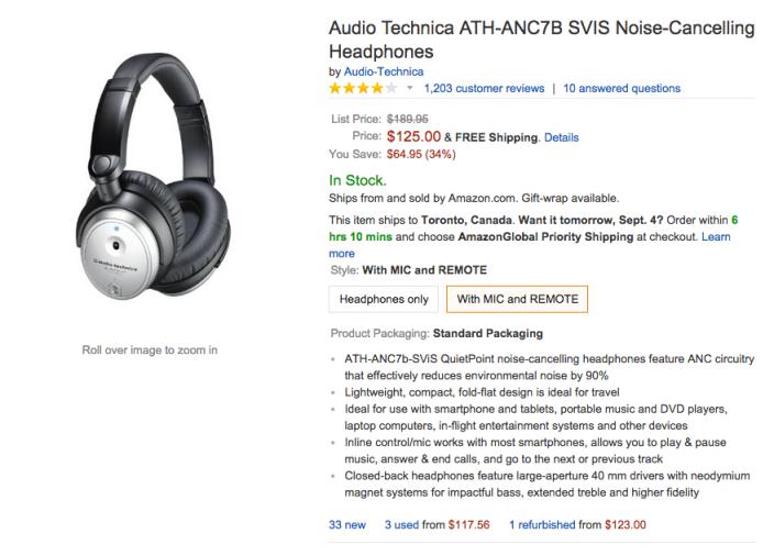 Audio-Technica ATH-ANC7B QuietPoint 500 Active Noise-Cancelling Headphones-sale-03