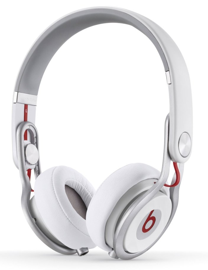 Beats by Dre Mixr HD On-Ear Stereo Headphones with inline Remote & Mic (white)-sale-01