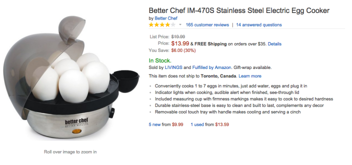 Better Chef Stainless Steel Electric Egg Cooker (IM-470S)-sale-02