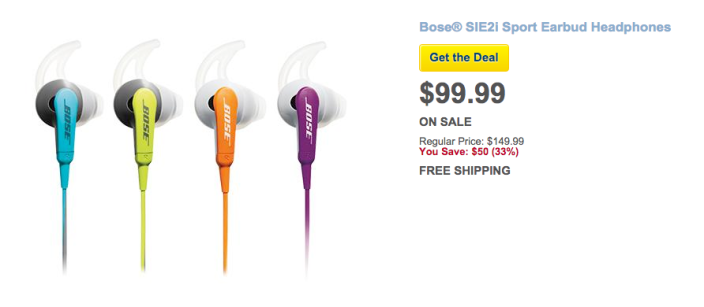 Bose SIE2i Sport Headphones in multiple colors-sale-Best Buy-03
