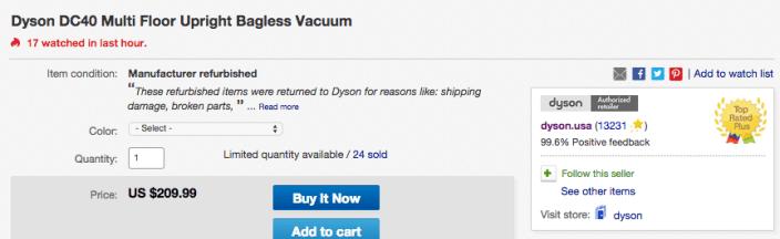 Dyson DC40 Multi Floor Upright Bagless Vacuum-sale-02