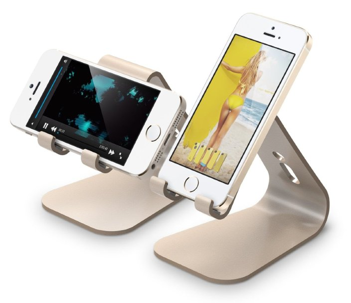 elago-m2-iphone-stand-gold