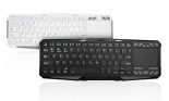Favi Wireless Bluetooth Keyboard with Built-in Touchpad and Universal Remote