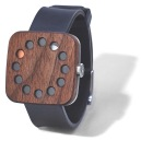 Grovemade - Wood Watch - Square & Silicone