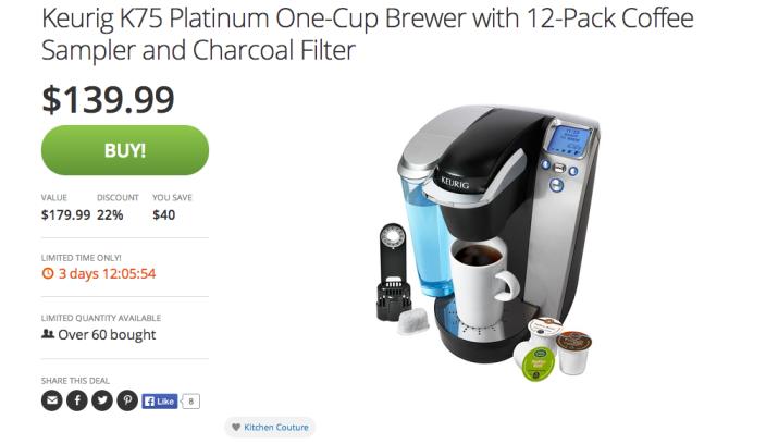 Keurig K75 Platinum One-Cup Brewer-sale-02