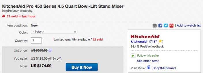 KitchenAid Pro 450 Series 4-1:2-Quart Stand Mixer-sale-01