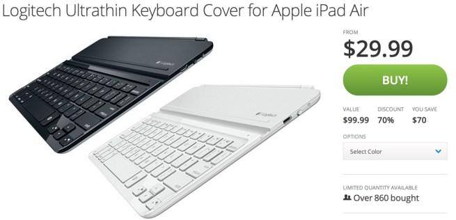 Logitech Ultrathin Keyboard Cover for Apple iPad