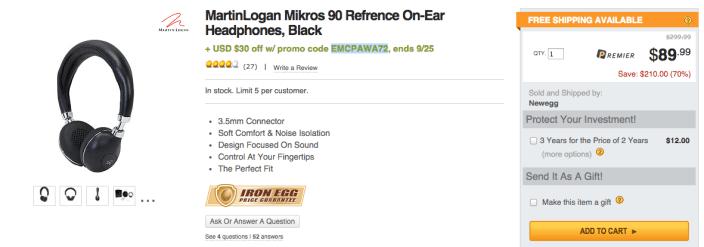 MartinLogan Mikros 90 Reference On-Ear Headphones-sale-01