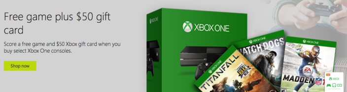 microsoft-xbox-one-console-free-game-promo