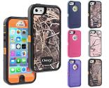 Otterbox Defender Series Impact-Resistant Hard Case for Apple iPhone 5:5S with Triple Layer Protection, Integrated Screen Protector and Holster Clip (Choice of 7 Colors)