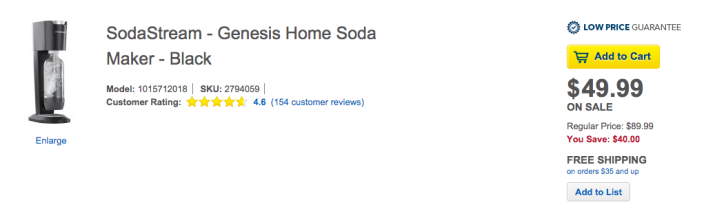 SodaStream Genesis Home Soda Maker-sale-02