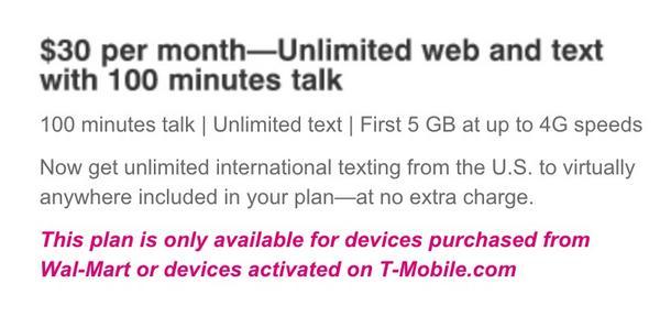 T-mobile Promo