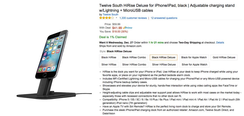 Twelve South HiRise Deluxe
