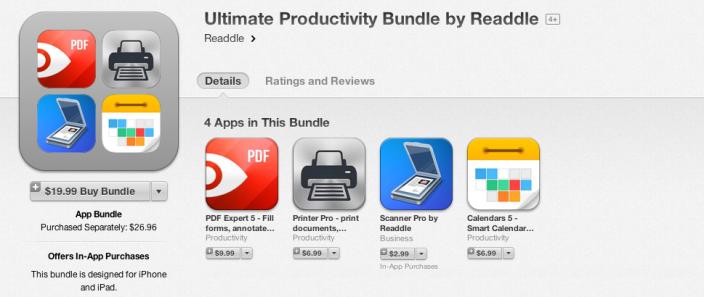 Ultimate Productivity bundle-Readlle