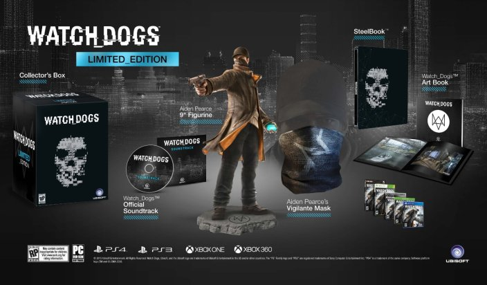 Watch Dogs Limited Edition-Amazon-sale-01